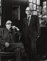 Sidney Gilliat; Frank Launder, by Callum Bibby - NPG x25248