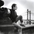 Steven Berkoff, by John Vere Brown - NPG x68289