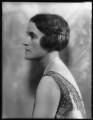 Hilda Vivian (née Lake), Lady Ingram, by Bassano Ltd - NPG x123984