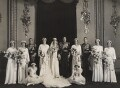 The wedding of Prince George, Duke of Kent and Princess Marina, Duchess of Kent, by Bassano Ltd - NPG x126333