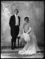 Hugh Aglionby Shore, 6th Baron Teignmouth; Anna Adelaide Caroline Shore (née Marsh), Lady Teignmouth, by Bassano Ltd - NPG x124027
