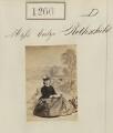 Evelina Gertrude de Rothschild, by Camille Silvy - NPG Ax50687