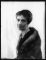 Agatha Rosalie (née Stevenson), Lady Innes, by Bassano Ltd - NPG x124070