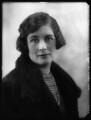 Agatha Isabel Fane (née Acland-Hood), by Bassano Ltd - NPG x124097