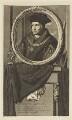 Sir Thomas More, by Pieter Stevens van Gunst, after  Adriaen van der Werff - NPG D18783