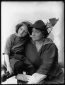 Eva Moore with her daughter Jill Esmond, by Bassano Ltd - NPG x102201