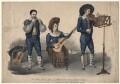 Michel Boai; Mrs Boai; M. Engels, by Unknown engraver - NPG D16215