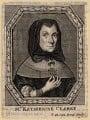 Catherine Clarke (née Overton), by Frederick Hendrik van Hove, after  Unknown artist - NPG D16225