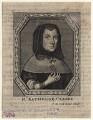 Catherine Clarke (née Overton), by Frederick Hendrik van Hove, after  Unknown artist - NPG D16224