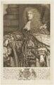 Henry Somerset, 1st Duke of Beaufort, by Robert White, after  Sir Godfrey Kneller, Bt - NPG D18843