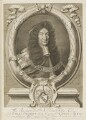 Sir John Holt, by Robert White, printed and sold by  John King, after  Sir Godfrey Kneller, Bt - NPG D18848
