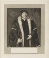 Sir Thomas Pope, by William Skelton, published by  James Wyatt, probably after  Unknown artist - NPG D18870