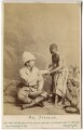 Sir Henry Morton Stanley; Kalulu (Ndugu M'hali), by London Stereoscopic & Photographic Company - NPG x45981