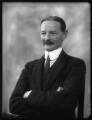 Sir Alexander Logie Elphinstone of Glack, 10th Bt, by Bassano Ltd - NPG x124130
