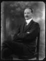 Sir Alexander Logie Elphinstone of Glack, 10th Bt, by Bassano Ltd - NPG x124131
