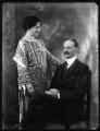 Agnes Gertrude Blanche Durell (née King), Lady Elphinstone of Glack; Sir Alexander Logie Elphinstone of Glack, 10th Bt, by Bassano Ltd - NPG x124133