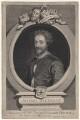 John Fletcher, by George Vertue, after  Unknown artist - NPG D16240