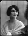 Ella Retford (Elinor Maud Dawe, née Flanagan), by Bassano Ltd - NPG x102410