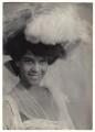 Jessie Ellis in 'In Dahomey', by Cavendish Morton - NPG x126390