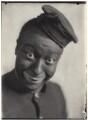 Bert Williams as Shylock Homestead in 'In Dahomey', by Cavendish Morton - NPG x126396