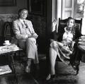 George Mann MacBeth; Lisa Gioconda St Aubin de Teran, by Susan Lipper - NPG x87174