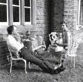 George Mann MacBeth; Alexander Morton George MacBeth; Lisa Gioconda St Aubin de Teran, by Susan Lipper - NPG x87173