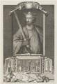 King Edward I, by George Vertue - NPG D18890