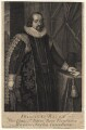 Francis Bacon, 1st Viscount St Alban, by George Vertue, after  Paul van Somer - NPG D16251