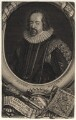 Francis Bacon, 1st Viscount St Alban, by George Vertue, after  Paul van Somer - NPG D16250