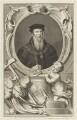 John Russell, 1st Earl of Bedford, by Jacobus Houbraken, published by  John & Paul Knapton - NPG D18953