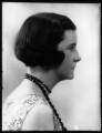 Hon. Lena Barbara Joan Onslow (née Ogilvie-Grant), by Bassano Ltd - NPG x124228