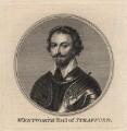 Thomas Wentworth, 1st Earl of Strafford, by Sir Robert Strange, after  Sir Anthony van Dyck - NPG D16326