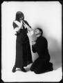 Ethel Oliver; Bay Russell, by Bassano Ltd - NPG x102529