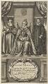 Queen Elizabeth I; Sir Francis Walsingham; William Cecil, 1st Baron Burghley, by William Faithorne - NPG D19080