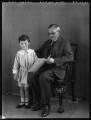 Adrian Gerald Foley, 8th Baron Foley and an unknown man, by Bassano Ltd - NPG x124361