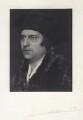 Cavendish Morton as Sir Thomas More, by Cavendish Morton - NPG x45647