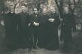 Cavendish Morton with five clerics, by Cavendish Morton - NPG x45650
