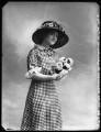 Frances Kapstowne, by Bassano Ltd - NPG x102808