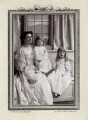 Countess of Ilchester with her two children, by Speaight Ltd - NPG x126419