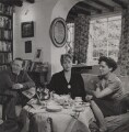 Alan Gregory; Margery Allingham; Joyce Allingham, by Francis Goodman - NPG Ax39595