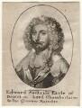 Edward Sackville, 4th Earl of Dorset, by Wenceslaus Hollar, after  Sir Anthony van Dyck - NPG D16415
