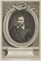 Benjamin Jonson, by George Vertue, after  Gerrit van Honthorst, after  Abraham van Blyenberch - NPG D19205