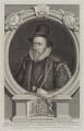 Thomas Sackville, 1st Earl of Dorset, by George Vertue, published by  John & Paul Knapton - NPG D19223