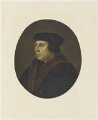 Thomas Cromwell, Earl of Essex, after Hans Holbein the Younger - NPG D19228