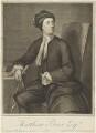 Matthew Prior, by George Vertue, after  Jonathan Richardson - NPG D19242