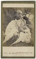 Prince (Dejatch) Alamayou of Abyssinia (Prince Alemayehu Tewodros of Ethiopia), by Julia Margaret Cameron - NPG x18063
