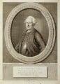 (Filippo Antonio) Pasquale Paoli, by Jacobus Houbraken, published by  E. van Harrevelt, after  S. Caron - NPG D19259