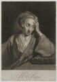 Alexander Pope, by George White, sold by  Samuel Sympson, after  Sir Godfrey Kneller, Bt - NPG D19286