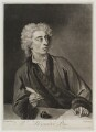Alexander Pope, by and sold by John Simon, after  Michael Dahl - NPG D19307