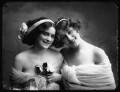 Violet Lillian Warren (née Harrison-Brown); Yvonne Fitzroy, by Bassano Ltd - NPG x103111